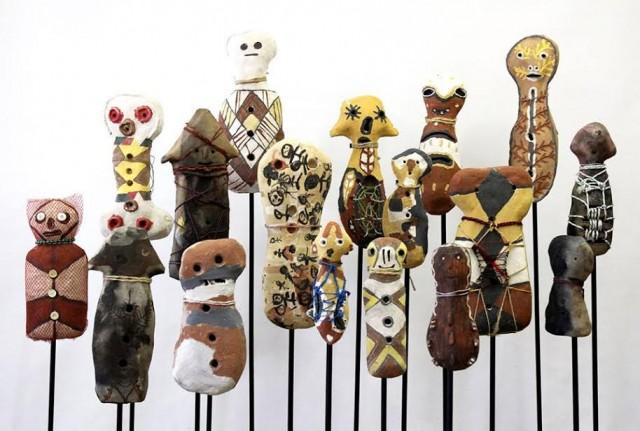 Girringun Aboriginal Art Centre 'Bagu' 2015