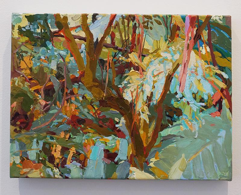 MARY TONKIN, Sparkle, Kalorama 2014 oil on linen 30 x 40 cm
