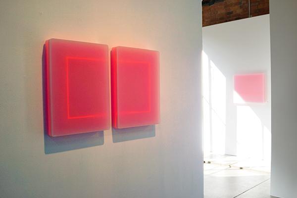 Karyn Taylor, Time Loop in 2 parts, 2015 room