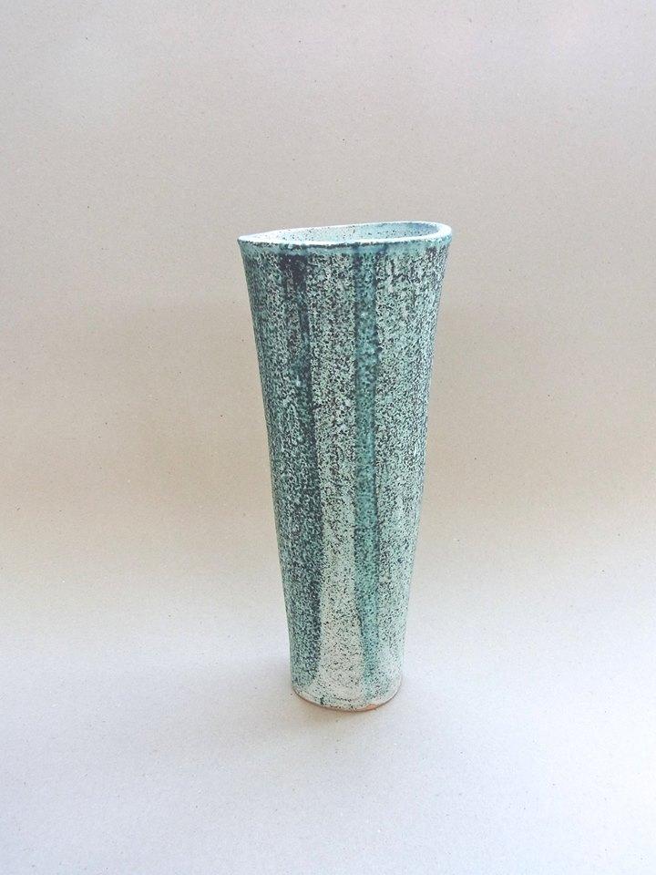 Jill Symes, 1996, Coral Vessel, ceramic